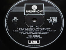 THE BEATLES LET IT BE EXPORT PARLOPHONE MINT TOP AUDIO 2U ONE BOX Ultra RARE~~~~