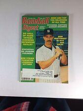 """Baseball Digest Magazine, May 1995, Don Mattingly, """"One Owner"""" Of Magazine"""