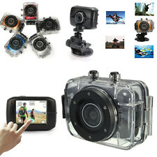 HD Waterproof Sport Action Camera Camcorder DV Video 720P Car Bike Helmet D10