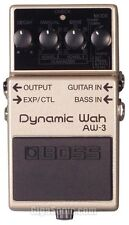 Boss AW-3 AW3 Dynamic Wah Guitar Pedal New