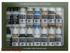 AV Vallejo Model Colour Set  Native Americans 17ml x 16 bottles NEW