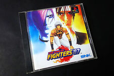 THE KING OF FIGHTERS 97 kof Sony PlayStation PS1 JAPAN Very.Good.Condition !
