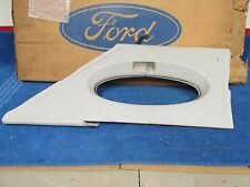 1977 LINCOLN  LH  GREY INTERIOR PANEL WITH OPERA WINDOW CUTOUT   NOS FORD  216