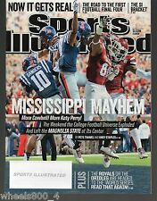 2014 Sports Illustrated OLE MISS REBELS & Mississippi State Subscription Issue