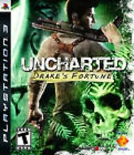 Uncharted: Drake's Fortune GAME (Sony Playstation 3) PS PS3 **FREE SHIPPING!!