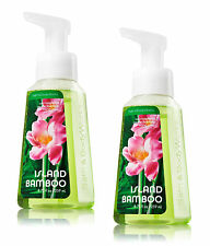 2 Bath & Body Works  ISLAND BAMBOO Anti-bacterial FOAMING Hand Soap