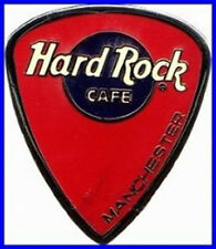 Hard Rock Cafe MANCHESTER 2000 RED Guitar Pick Logo PIN - HRC Catalog #5286 NEW!