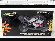 1/12 MINICHAMPS - VALENTINO ROSSI Yamaha Valencia 2005