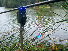 4 x Bite alarm illuminated bite indicators,hanger,bobbin,Carp,Pike,Cat fishing