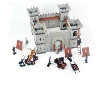 Medieval Stone Castle Toy Soldiers infantry basilisk Playset KIT 1/35 (NO BOX)