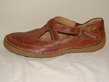 Naturalizer N5 Comfort Tan Leather Walking Loafer Shoe - Size 10M