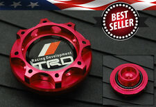 M37x 3.0 Thread Pitch TRD Red Engine Oil Filler Cap Cover For LEXUS SCION TOYOTA