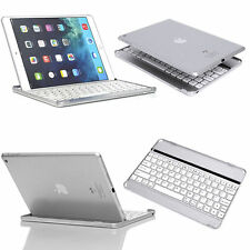 For iPad 2 3 4 Aluminum Wireless Bluetooth Keyboard Keypad Stand Case Cover NEW