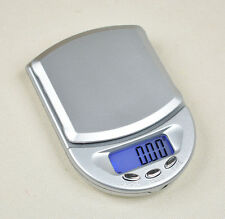 200g / 0.01g Electronic Pocket Jewelry Digital Scales Silver Diamond Weight LCD