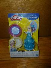 Play-Doh DISNEY PRINCESS Frozen Elsa Sparkle Compound Set Playdoh