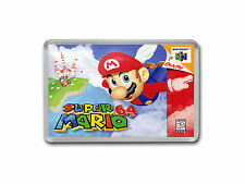 SUPER MARIO 64 Nintendo 64 N64 Game Cover Art Fridge Magnet