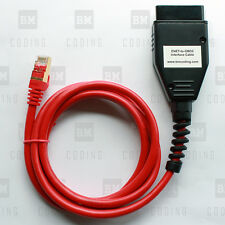 BMW ENET (Ethernet to OBD) Interface Cable E-SYS ICOM Coding F-series US SELLER