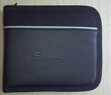 CyberHome Black 12 CD DVD Blu-Ray Disc Holder Case Zippered Storage Wallet