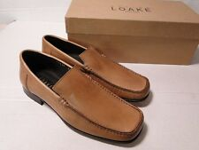 LOAKE - 1353P - Stone - 6UK - Mens Slip On Leather Shoes - RRP £120