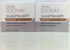 SKIN DOCTORS Superfacelift 50ml x2 STOCK TAKE SALE & FREE Domestic Post