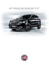 Fiat Freemont 03 / 2014 catalogue brochure no Dodge Journey