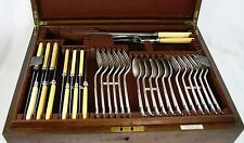 Mappin & Webb Harrods Silver Plated Canteen of Cutlery Onslow Pattern 50 Pieces