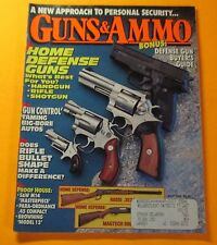 GUNS & AMMO MAGAZINE JULY/1992...HOME DEFENSE GUNS: WHAT'S THE BEST FOR YOU?
