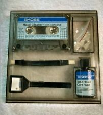 Vintage Koss Tape Recorder Care Kit Cassette Head Cleaning ebay8