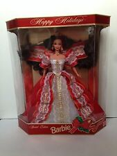 Barbie Brunette Happy Holiday 1997 NRFB Mattel Vintage Doll
