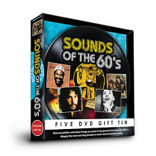 SOUNDS OF THE 60s - FIVE DVD GIFT TIN - CILLA BLACK THE MOVE LULU & MORE 1960's