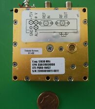 Herley CTI phase locked PDRO precision oscillator 12838 MHz, 12.838 GHz, tested