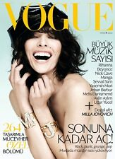 Vogue TURKEY,May 2013,Milla Jovovich,Rihanna,Beyonce,Nick Cave,Manga SEALED