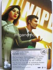 Android Netrunner LCG - 1x NAPD-Vertrag  #119 - WC 2015 Corporation