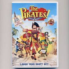 The Pirates! Band of Misfits 2012 PG stop-motion animated family movie, new DVD