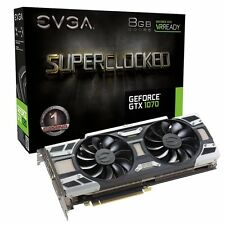 *NEW SEALED* EVGA GeForce GTX 1070 SC GAMING ACX 3.0,DX12 OSD Support (PXOC)