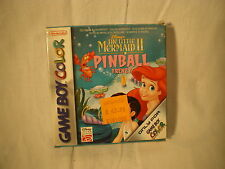 VIDEOGIOCO GAME BOY COLOR – THE LITTLE MERMAID 2 PINBALL FRENZY DISNEY