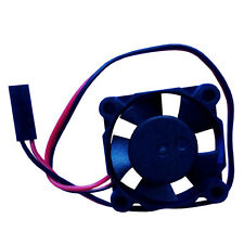 RC 1:8 1:10 Brushless Dc Fan Cooling DC12V 0.08A JST Connector 30*30mm For HSP S