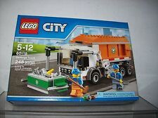 LEGO CITY SET 60118 GARBAGE TRUCK NEW