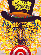 2015 PRIMUS WILLY WONKA CHOCOLATE FACTORY KANSAS CITY TOUR POSTER 5/6 AP
