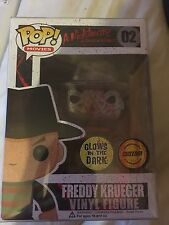 funko pop freddy krueger Abbernaffy Custom Sketch Glow In The Dark Pop