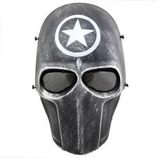 War Soldier Adult Full Mask Hood Face for Cosplay CS Halloween Party