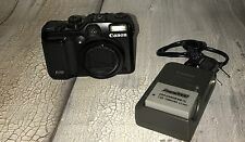 CANON PowerShot G10 14.7 MP Black Point & Shoot Digital Camera Working!