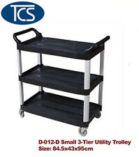 Small Utility Trolley 3 Shelf Kitchen/ Restaurant / Catering