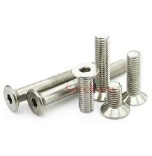 Lot25 Metric Thread M8*40mm Stainless Steel Hex Socket Countersunk Screws