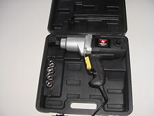 "NEW 1/2"" Square Drive Electric Impact Wrench with Case"