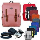 Women's Travel Satchel Shoulder Bag Backpack Rucksack Laptop School Backpack