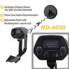 MD-4030 Deep Target Metal Detector Gold Treasure w/Waterproof Search Coil Hunter