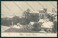 Alessandria Lerma Nevicata cartolina QK0819