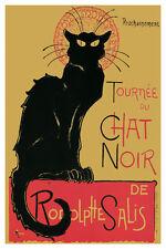 """T. A. Steinlen Le Chat Noir Poster 24"""" x 36"""""""