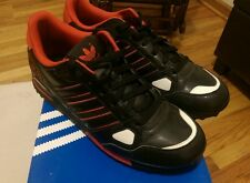 Adidas Men's ZX 750 10 US -Black, White & Red